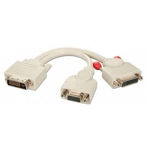 Lindy SPLITTER DVI-I/VGA+DVI-D 41048 41048