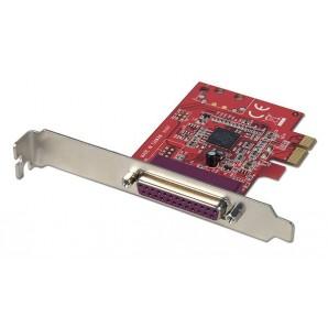 Lindy SCHEDA PCI EXPRESS 1 PORTA PARALLELA IEEE 1284 51185 51185-LND