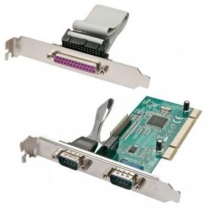 Lindy SCHEDA PCI 2 PORTE SERIALI E 1 PORTA PARALLELA 51242 51242