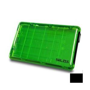 Nilox BOX USB 3.0 2.5P VERDE TRASPARENTE DH0002GT DH0002GT