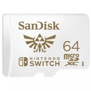 Sandisk FOR Nintendo Switch SDSQXAT-064G-GNCZN SDSQXAT064GGNCZ