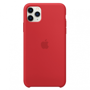 Apple IPHONE 11 PRO MAX SILICONE CASE - RED MWYV2ZM/A MWYV2ZM/A