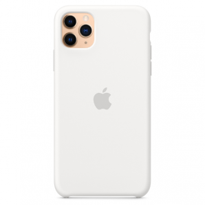 Apple IPHONE 11 PRO MAX SILICONE CASE - WHITE MWYX2ZM/A MWYX2ZM/A
