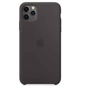 Apple IPHONE 11 PRO MAX SILICONE CASE - BLACK MX002ZM/A MX002ZM/A