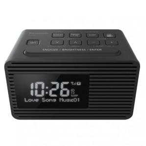 Panasonic Radiosveglia DAB+ con doppio timer RC-D8EG-K RC-D8EG-K