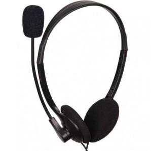 """Prodotti Bulk Cuffia stereo con microfono - 2 Jack 3,5"""" MHS-123 MHS-123"""