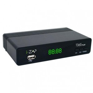 I-Can Decoder Digitale Terrestre, DVBT2, HEVC, 10 BIT, TELECOMANDO 2 in 1, PVR I-ZAPT365_PLAY I-ZAPT365_PLAY