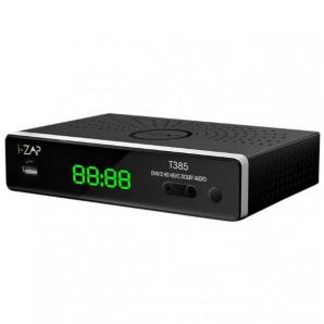 I-Can Decoder Digitale Terrestre HD, DVBT2, HEVC, 10 BIT, TELECOMANDO 2 in 1 I-ZAPT385 I-ZAPT385