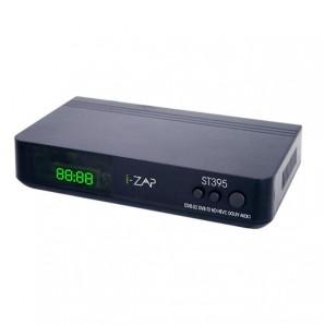 I-Can Decoder Digitale COMBO terrestre HD + Satellitare HD Free I-ZAPT395 I-ZAPT395