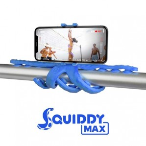 Celly FLEXIBLE MAXI TRIPOD - SMARTPHONE AND CAMERA [SQUIDDY] SQUIDDYMAXBL SQUIDDYMAXBL
