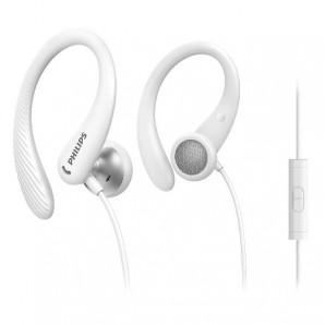 Philips Auricolari sportivi in-ear con microfono TAA1105WT/00 TAA1105WT/00