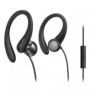 Philips Auricolari sportivi in-ear con microfono TAA1105BK/00 TAA1105BK/00